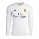 adidas Real Madrid 2015/2016 LS Home Jersey