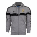 adidas Real Madrid FZ Hoody - Grey