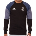 adidas Real Madrid Sweat Top - Black