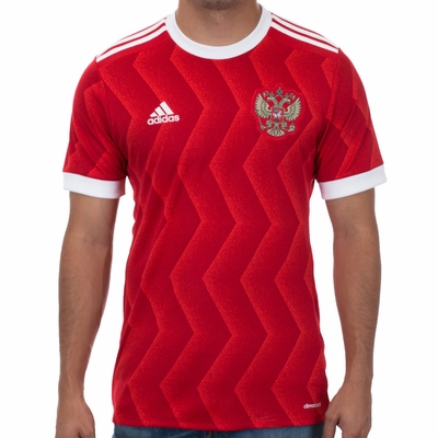 adidas Russia 2017/2018 Home Jersey - Click to enlarge