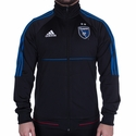 adidas San Jose Earthquakes 2017 Anthem Jacket