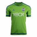 adidas Seattle Sounders 2015 Authentic Home Jersey