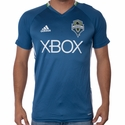 adidas Seattle Sounders SS Training Top - Blue