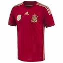 adidas Spain 2014 Authentic Home Jersey