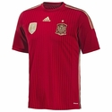 adidas Spain 2014 World Cup Home Jersey