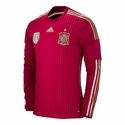 adidas Spain 2014 World Cup L/S Home Jersey