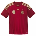 adidas Spain 2014 World Cup Youth Home Jersey
