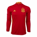 adidas Spain 2016 LS Home Jersey