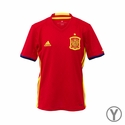 Youth adidas Spain 2016 Home Jersey