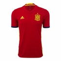adidas Spain 2016 Authentic Home Jersey