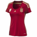 adidas Spain Women's 2014 World Cup Home Jersey