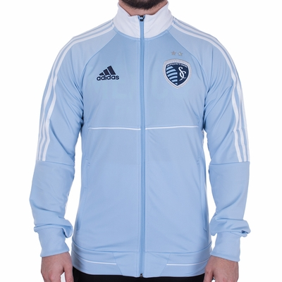 adidas Sporting KC 2017 Anthem Jacket - Click to enlarge