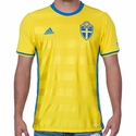 adidas Sweden 2016 Home Jersey