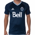 adidas Vancouver Whitecaps SS Training Top - Royal Blue