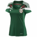 adidas Mexico 2014 World Cup Women's Home Jersey