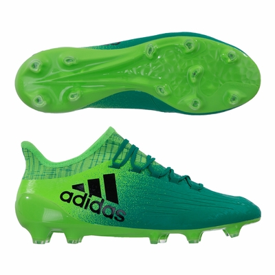 adidas X16.1 FG Soccer Cleats - Solar Green - Click to enlarge
