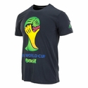 adidas Youth FIFA World Cup Brazil Tee - Black