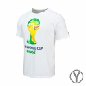 adidas Youth FIFA World Cup Brazil Tee - White