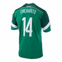 Chicharito Mexico 2014 Home Jersey