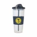 Club America 22oz No-Spill Straw Tumbler