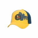 Club America Flex-Fit Hat - Yellow