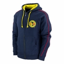 Club America Full Zip Hoodie - Navy