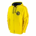 Club America Full Zip Hoodie - Yellow