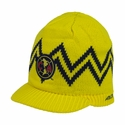 Club America Visor Beanie - Yellow