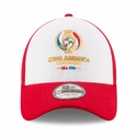 Copa America 2016 39THIRTY Stretch Fit Cap Red/White