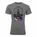 DTG Iceland Euro 2016 T-Shirt - Grey