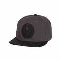 Fan Ink Club America Snapback Hat - Gray