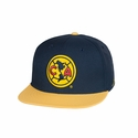 Fan Ink Club America Snapback Hat - Navy