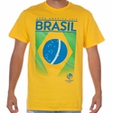 Fifth Sun Brazil 2016 Copa America Flag Tee - Yellow