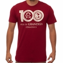 Fifth Sun Club America 100 Years Tee - Cardinal Red