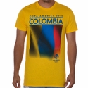 Fifth Sun Colombia 2016 Copa America Flag Tee - Yellow