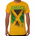 Fifth Sun Jamaica 2016 Copa America Flag Tee - Yellow