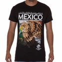 Fifth Sun Mexico 2016 Copa America Flag Tee - Black
