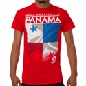 Fifth Sun Panama 2016 Copa America Flag Tee - Red