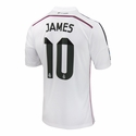 James Rodriguez Real Madrid 14/15 Home Jersey