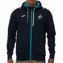 Joma Swansea City AFC Travel Hoody - Navy