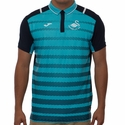 Joma Swansea City AFC Travel Polo - Turquoise