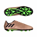 Kids adidas Messi 16.3 FG Soccer Cleats - Copper