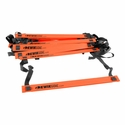 KwikGoal Agility Ladder - Hi-Vis Orange