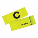 KwikGoal Captain C Armband - High-Vis Yellow