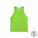 KwikGoal Youth Scrimmage Vest - High-Vis Green