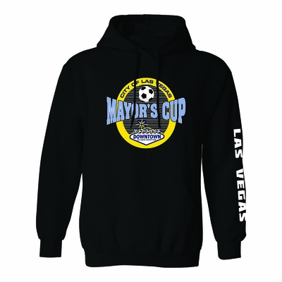 Las Vegas Mayor's Cup International Showcase Hoody - Adult - Black - Click to enlarge