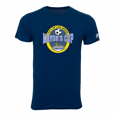 Las Vegas Mayor's Cup International Showcase Tee - Adult - Navy - Click to enlarge