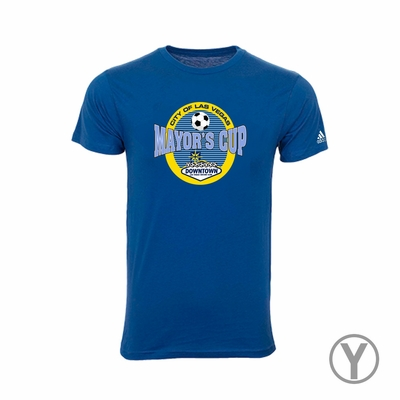 Las Vegas Mayor's Cup International Showcase Tee - Youth - Royal - Click to enlarge