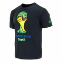 Men's adidas 2014 FIFA World Cup Brazil T-Shirt - Black
