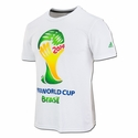 Men's adidas 2014 FIFA World Cup Brazil T-Shirt - White